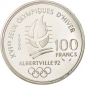 France, 100 Francs, 1990, SPL+, Argent, KM:984
