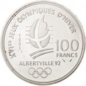 France, 100 Francs, 1991, SPL, Argent, KM:994