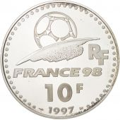 France, 10 Francs, 1997, MS(65-70), Silver, KM:1165