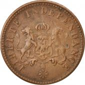 Haiti, 2 Centimes, 1850, EF(40-45), Copper, KM:36