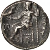 Macedonia (Kingdom of), Philippe III, Drachm, Colophon, TTB, Argent