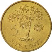 Seychelles, 5 Cents, 1982, British Royal Mint, KM 47.1
