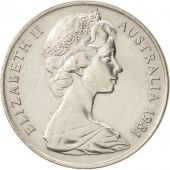 Australia, Elizabeth II, 10 Cents, 1981, AU(55-58), Copper-nickel, KM:65