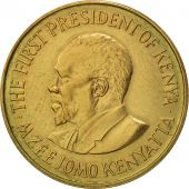 Kenya, 5 Cents, 1978, AU(50-53), Nickel-brass, KM:10