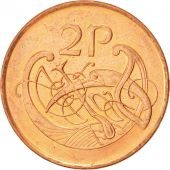 IRELAND REPUBLIC, 2 Pence, 1996, SUP+, Copper Plated Steel, KM:21a