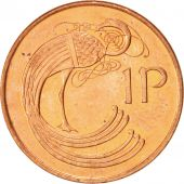 IRELAND REPUBLIC, Penny, 1996, SUP, Copper Plated Steel, KM:20a