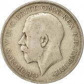 Great Britain, George V, Florin, Two Shillings, 1920, VF(20-25), Silver, KM:817a