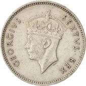EAST AFRICA, George VI, 50 Cents, 1948, AU(50-53), Copper-nickel, KM:30