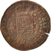 Spanish Netherlands, Token, Philippe IV, Brabant, 1656, AU(50-53), Copper, 32