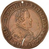 Spanish Netherlands, Token, Philippe IV, Anvers, Peace celebration, 1661