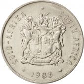South Africa, 20 Cents, 1983, AU(55-58), Nickel, KM:86