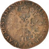 Belgium, Token, Spanish Netherlands, Charles II, Anvers, Bureau des Finances