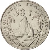 French Polynesia, 50 Francs, 1975, Paris, TTB+, Nickel, KM:13