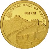 Mongolie, 1000 Togrog, Great Wall of China, 2008, FDC, Or