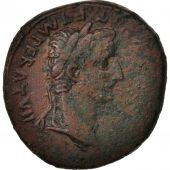 Tiberius, As, 12-14, Lyons, EF(40-45), Copper, Cohen:38, RIC:245