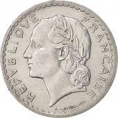 France, Lavrillier, 5 Francs, 1946, Paris, AU(55-58), Aluminum, KM:888b.1