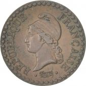 France, Dupré, Centime, 1848, Paris, AU(50-53), Bronze, KM:754, Gadoury:84
