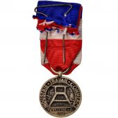 France, Médaille du Travail, Medal, 1973, Very Good Quality, Bronze