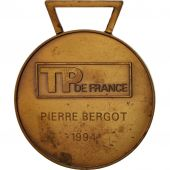 France, TP France, Medal, 1994, Very Good Quality, Bronze, 49