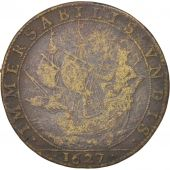 France, Token, Royal, Nicolas De Bailleul, Prévôt, 1627, TB+, Brass