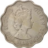Mauritius, Elizabeth II, 10 Cents, 1971, EF(40-45), Copper-nickel, KM:33