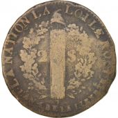 France, 2 Sols, 1792, Arras, TB, Bronze, Gadoury:25
