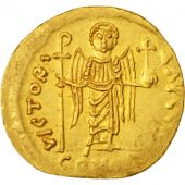 Maurice Tiberius 582-602, Solidus, 583-601 AD, Constantinople, SUP, Or, Sear:526