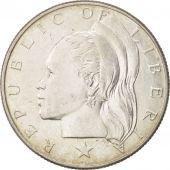 Liberia, 50 Cents, 1960, Heaton, SUP+, Argent, KM:17