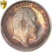 Great Britain, Edward VII, Penny, 1904, PCGS, PL67, MS(65-70), Silver, KM:795