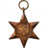 United Kingdom , The Burma Star, Medal, 1941, Excellent Quality, Cuivre, 50
