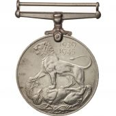 United Kingdom , War Medal 1939-45, Medal, 1939-1945, Excellent Quality, Nickel