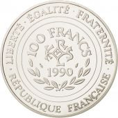 France, 100 Francs-15 Ecus, 1990, Paris, FDC, Argent, KM:989
