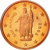 San Marino, 2 Euro Cent, 2008, MS(65-70), Copper Plated Steel, KM:441