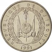 Djibouti, 50 Francs, 1991, Paris, SPL+, Copper-nickel, KM:25