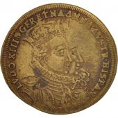France, Jeton, Royal, Louis XIII and Anne dAutriche wedding, 1615, TTB, Laiton