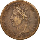 FRENCH COLONIES, Charles X, 10 Centimes, 1825, Paris, EF(40-45), Bronze
