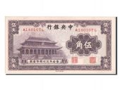 Chine, Central Bank of China, 50 Cents 1931, Pick 205