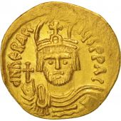 Heraclius 610-641, Solidus, 610-613, Constantinople,10th officina SUP, Or