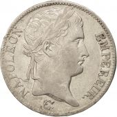 France, 5 Francs, 1811, Paris, AU(50-53), Silver, KM:694.1, Gadoury:584