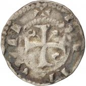 France, Arras, Maille de Simon, XIIth century, Arras, EF(40-45), argent