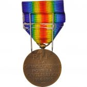 France, Médaille commémorative de 1914-1918, Politics, Society, War, Medal
