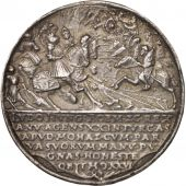 Allemagne, Medal, Ludwig II, Battle of Mohacs, History, 1526, TB, Argent