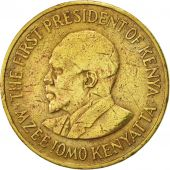 Kenya, 5 Cents, 1971, EF(40-45), Nickel-brass, KM:10