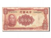 Chine, Central Bank of China, 500 Yuan 1944, Pick 265