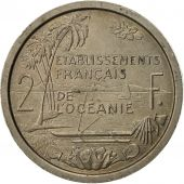 FRENCH OCEANIA, 2 Francs, 1949, ESSAIS, SUP, Copper-nickel, KM:E9