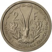 French Equatorial Africa, 2 Francs, 1948, Paris, ESSAI, AU(55-58), KM:E2