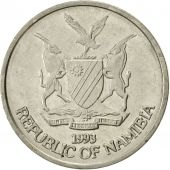 Namibia, 10 Cents, 1993, Vantaa, SUP, Nickel plated steel, KM:2