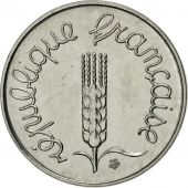 France, Épi, Centime, 1980, Paris, MS(63), Stainless Steel, KM:928, Gadoury:91
