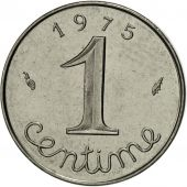 France, Épi, Centime, 1975, Paris, MS(63), Stainless Steel, KM:928, Gadoury:91