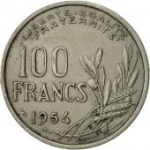 France, Cochet, 100 Francs, 1954, Paris, SUP, Copper-nickel, KM:919.1